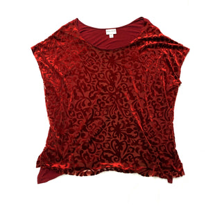 Primary Photo - BRAND: AVA AND VIVSTYLE: TOP SHORT SLEEVECOLOR: REDSIZE: 3XSKU: 196-19681-62920