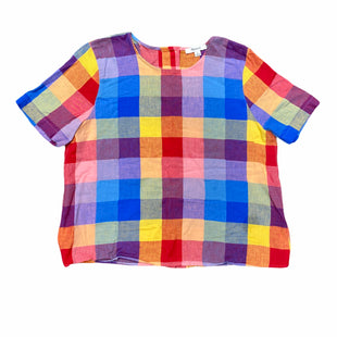 Primary Photo - BRAND: MADEWELL STYLE: TOP SHORT SLEEVE COLOR: RAINBOW SIZE: M SKU: 196-196145-1729