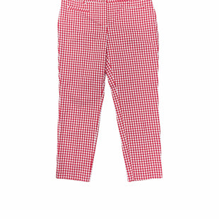 Primary Photo - BRAND: ANN TAYLOR STYLE: CAPRIS COLOR: RED WHITE SIZE: 2PETITE SKU: 196-14511-48367