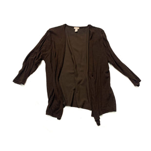 Primary Photo - BRAND: CHICOSSTYLE: SWEATER CARDIGAN LIGHTWEIGHTCOLOR: BROWNSIZE: XLSKU: 196-19681-70006