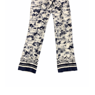 Primary Photo - BRAND: TORY BURCH STYLE: PANTS DESIGNER COLOR: BLUE WHITE SIZE: XS SKU: 196-19666-18271