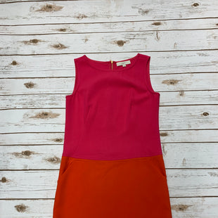 Primary Photo - BRAND: LOFT STYLE: DRESS SHORT SLEEVELESS COLOR: ORANGEPINK SIZE: S SKU: 196-196136-4032