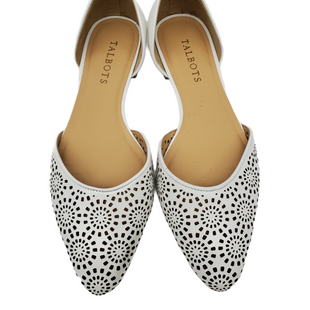 Primary Photo - BRAND: TALBOTS STYLE: SHOES FLATS COLOR: WHITE SIZE: 7 SKU: 196-196112-56442