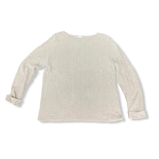 Primary Photo - BRAND: WESTPORT STYLE: SWEATER LIGHTWEIGHT COLOR: TAN SIZE: 2X SKU: 196-14511-46879