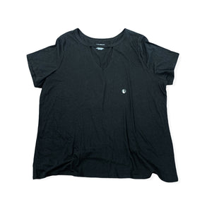Primary Photo - BRAND: LANE BRYANT STYLE: TOP SHORT SLEEVE COLOR: BLACK SIZE: 2X SKU: 196-196112-53816