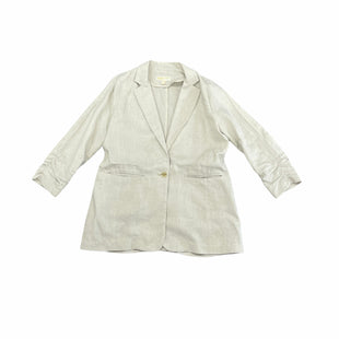 Primary Photo - BRAND: MICHAEL BY MICHAEL KORS STYLE: BLAZER JACKET COLOR: BEIGE SIZE: L SKU: 196-196141-5020