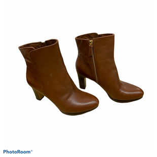 Primary Photo - BRAND: NINE WEST SHOES STYLE: BOOTS ANKLE COLOR: BROWN SIZE: 7.5 SKU: 196-14511-47329