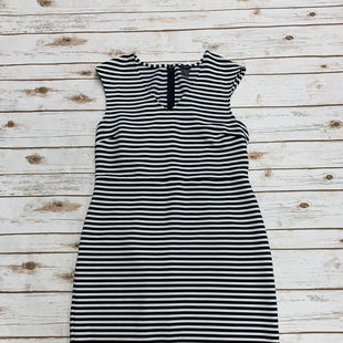 Primary Photo - BRAND: ANN TAYLOR STYLE: DRESS LONG SLEEVELESS COLOR: BLACK WHITE SIZE: L SKU: 196-196132-2431