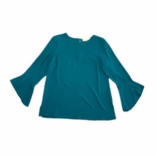 Primary Photo - BRAND: MICHAEL BY MICHAEL KORS STYLE: TOP LONG SLEEVE COLOR: TEAL SIZE: M SKU: 196-196145-1215