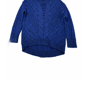 Primary Photo - BRAND: EXPRESS STYLE: SWEATER HEAVYWEIGHT COLOR: BLUE SIZE: S SKU: 196-14511-46348