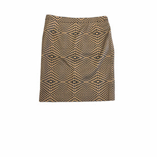 Primary Photo - BRAND: HALOGEN STYLE: SKIRT COLOR: BROWN SIZE: 8 SKU: 196-196112-58877
