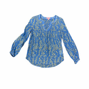 Primary Photo - BRAND: LILLY PULITZER STYLE: TOP LONG SLEEVE COLOR: BLUE SIZE: XXS SKU: 196-19681-74917