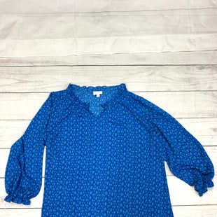 Primary Photo - BRAND:    CLOTHES MENTOR STYLE: TOP LONG SLEEVE COLOR: BLUE SIZE: 2X OTHER INFO: BELLE - SKU: 196-196112-49636