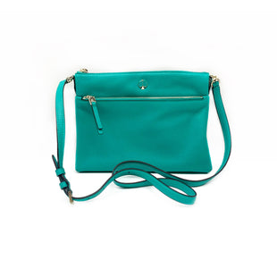 Primary Photo - BRAND: KATE SPADE STYLE: HANDBAG DESIGNER COLOR: TURQUOISE SIZE: SMALL SKU: 196-19681-74268