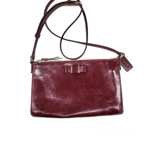 Primary Photo - BRAND: COACHSTYLE: HANDBAG DESIGNERCOLOR: BURGUNDYSIZE: SMALLMODEL NUMBER: 52225SKU: 196-196112-47132