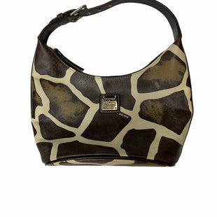 Primary Photo - BRAND: DOONEY AND BOURKE STYLE: HANDBAG DESIGNER COLOR: ANIMAL PRINT SIZE: SMALL SKU: 196-196133-4614