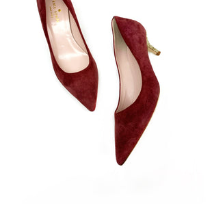 Primary Photo - BRAND: KATE SPADESTYLE: SHOES DESIGNERCOLOR: MAROONSIZE: 5SKU: 196-14511-45178