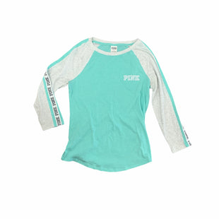Primary Photo - BRAND: PINK STYLE: ATHLETIC TOP COLOR: MINT SIZE: S SKU: 196-19666-17850AS IS