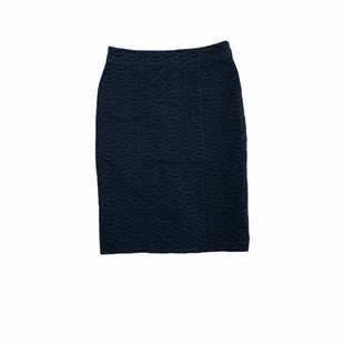 Primary Photo - BRAND: ANN TAYLOR STYLE: SKIRT COLOR: NAVY SIZE: 4 SKU: 196-14511-48322