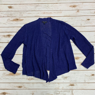Primary Photo - BRAND: EILEEN FISHER STYLE: SWEATER CARDIGAN LIGHTWEIGHT COLOR: BLUE SIZE: S SKU: 196-19681-70335