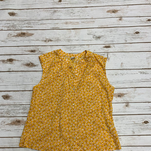 Primary Photo - BRAND: OLD NAVY STYLE: TOP SLEEVELESS COLOR: YELLOW SIZE: S SKU: 196-196112-51007