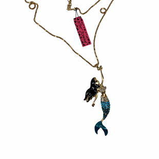 Primary Photo - BRAND: BETSEY JOHNSON STYLE: NECKLACE COLOR: GOLD OTHER INFO: MERMAID SKU: 196-196112-55462