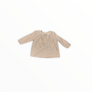 Primary Photo - BRAND: UNIVERSAL THREAD STYLE: TOP LONG SLEEVE COLOR: BROWN SIZE: S SKU: 196-14511-46455