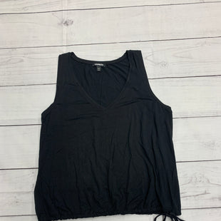 Primary Photo - BRAND: EXPRESS STYLE: TOP SLEEVELESS BASIC COLOR: BLACK SIZE: L SKU: 196-196112-51110