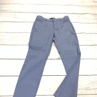 Primary Photo - BRAND: BANANA REPUBLIC O STYLE: PANTS COLOR: BLUE WHITE SIZE: 2 SKU: 196-196112-51444