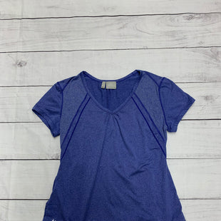Primary Photo - BRAND: ATHLETA STYLE: ATHLETIC TOP SHORT SLEEVE COLOR: BLUE SIZE: XL SKU: 196-196144-48