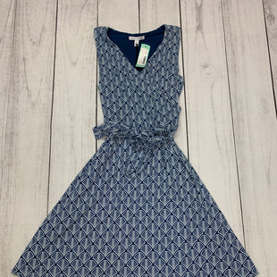 Primary Photo - BRAND: 41 HAWTHORN STYLE: DRESS SHORT SLEEVELESS COLOR: BLUE WHITE SIZE: S SKU: 196-19681-71004