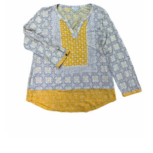 Primary Photo - BRAND: LUCKY BRAND STYLE: TOP LONG SLEEVE COLOR: YELLOW SIZE: M SKU: 196-196112-52495