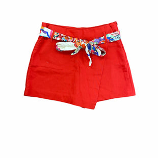 Primary Photo - BRAND: ZARA BASIC STYLE: SHORTS COLOR: RED SIZE: S SKU: 196-196145-3508