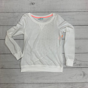 Primary Photo - BRAND: MAURICES STYLE: ATHLETIC TOP COLOR: WHITE SIZE: S SKU: 196-196141-2626