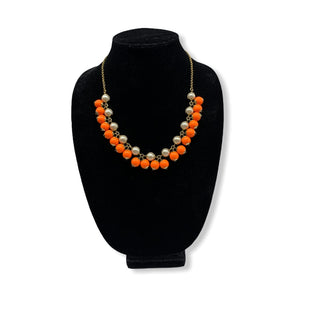Primary Photo - BRAND: J CREW STYLE: NECKLACE COLOR: ORANGE OTHER INFO: AND WHITE SKU: 196-19694-33994