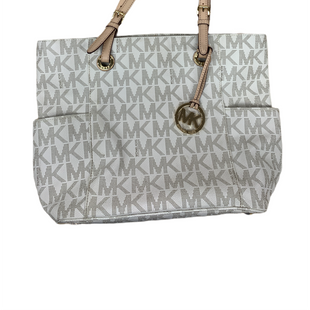 Primary Photo - BRAND: MICHAEL KORS STYLE: HANDBAG DESIGNER COLOR: CREAM SIZE: LARGE SKU: 196-196144-678