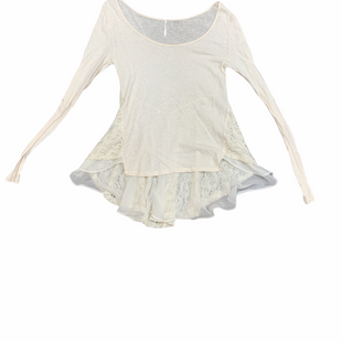 Primary Photo - BRAND: FREE PEOPLE STYLE: TOP LONG SLEEVE COLOR: CREAM SIZE: S SKU: 196-14511-47781