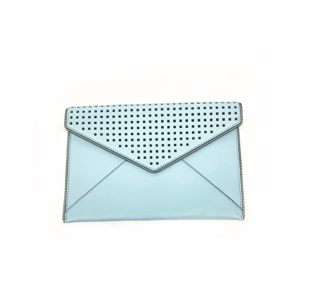 Primary Photo - BRAND: REBECCA MINKOFF<BR>STYLE: CLUTCH<BR>COLOR: BLUE<BR>SKU: 196-196112-45058