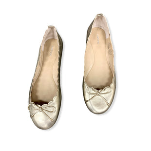Primary Photo - BRAND: LANDS END STYLE: SHOES FLATS COLOR: GOLD SIZE: 8 SKU: 196-14511-46477