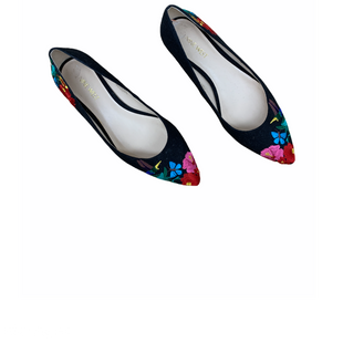Primary Photo - BRAND: NINE WEST SHOES STYLE: SHOES FLATS COLOR: BLACK RED SIZE: 7 SKU: 196-196112-49051