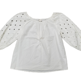 Primary Photo - BRAND: A NEW DAY STYLE: TOP LONG SLEEVE COLOR: OFF WHITE SIZE: XS SKU: 196-196112-56140