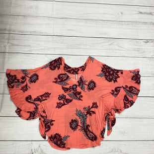 Primary Photo - BRAND: FREE PEOPLE STYLE: TOP SHORT SLEEVE COLOR: PINK SIZE: XS SKU: 196-196141-3815