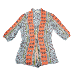 Primary Photo - BRAND:    DANCE & MARVELSTYLE: TOP LONG SLEEVE COLOR: ORANGE BLUE SIZE: M SKU: 196-19694-35678
