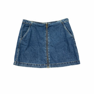 Primary Photo - BRAND: ZARA BASIC STYLE: SKIRT COLOR: DENIM SIZE: L SKU: 196-14511-46273