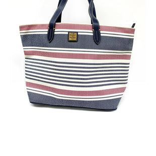 Primary Photo - BRAND: DOONEY AND BOURKE STYLE: HANDBAG DESIGNER COLOR: RED WHITE BLUE SIZE: LARGE SKU: 196-196133-4629