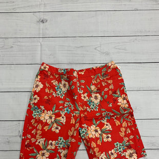 Primary Photo - BRAND: ISAAC MIZRAHI LIVE QVC STYLE: SHORTS COLOR: RED GREEN SIZE: 16 SKU: 196-196112-51145