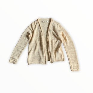Primary Photo - BRAND: MAX STUDIO STYLE: SWEATER CARDIGAN LIGHTWEIGHT COLOR: CREAM SIZE: S SKU: 196-196144-272