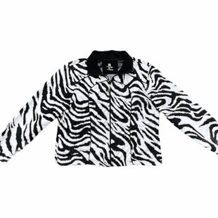 Primary Photo - BRAND: AC-TIV-OLOGYSTYLE: ATHLETIC JACKET COLOR: ZEBRA PRINT SIZE: PETITE LARGE SKU: 196-196144-84