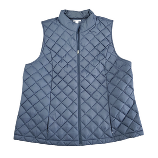 Primary Photo - BRAND: J JILL STYLE: VEST DOWN COLOR: NAVY SIZE: XL SKU: 196-196112-57026