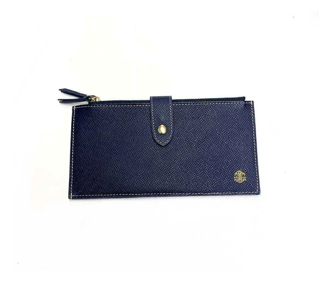 Primary Photo - BRAND: BORGASETS<BR>STYLE: WALLET<BR>COLOR: BLUE<BR>SIZE: LARGE<BR>OTHER INFO: BORGASETS - <BR>SKU: 196-14511-43147